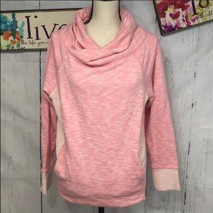 Xersion cowl neck sweatshirt